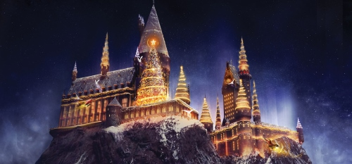 The Wizarding World of Harry Potter te deslumbrara con espectacular show de luces esta navidad