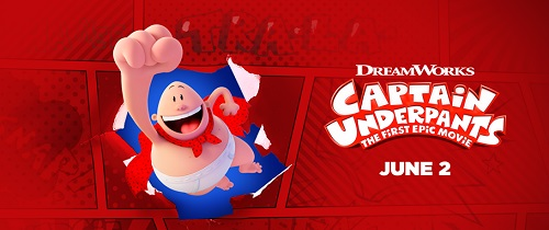 'Captain Underpants: The First Epic Movie' en cines hoy