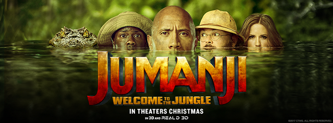 Nuevo tráiler de 'Jumanji: Welcome to the Jungle' #Jumanji
