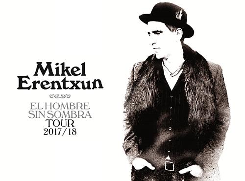 Mikel Erentxun este 24 de septiembre en The Roxy