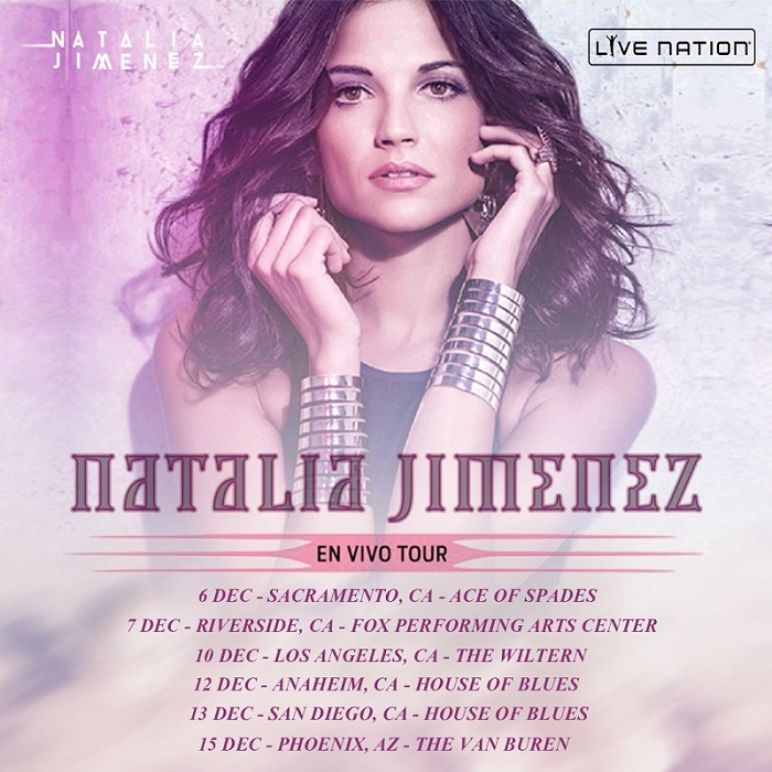 Natalia Jiménez –  En Vivo Tour