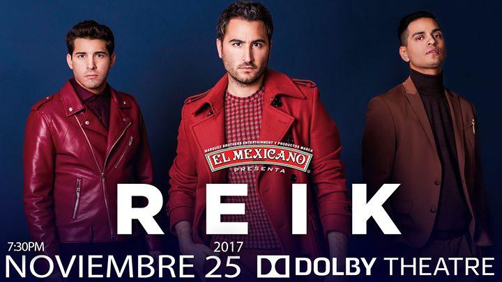 Reik – Dolby Theatre