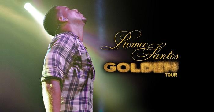 """Romeo Santos anuncia gira """"Golden Tour"""""""