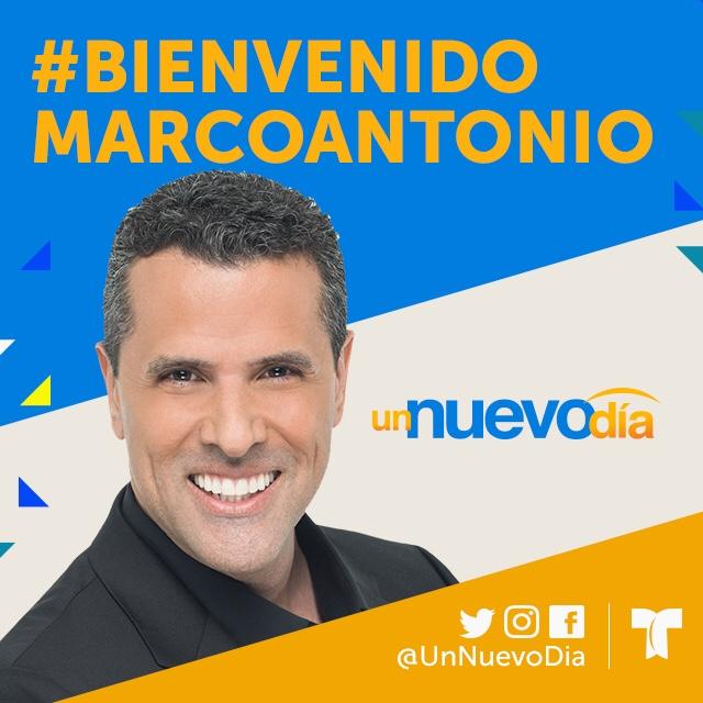 Marco Antonio Regil llega a 'Un Nuevo Día'