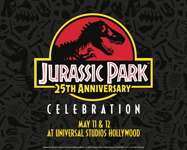 Universal CityWalk y Universal Studios Hollywood celebrarán el vigésimo-quinto aniversario de la cinta Jurassic Park