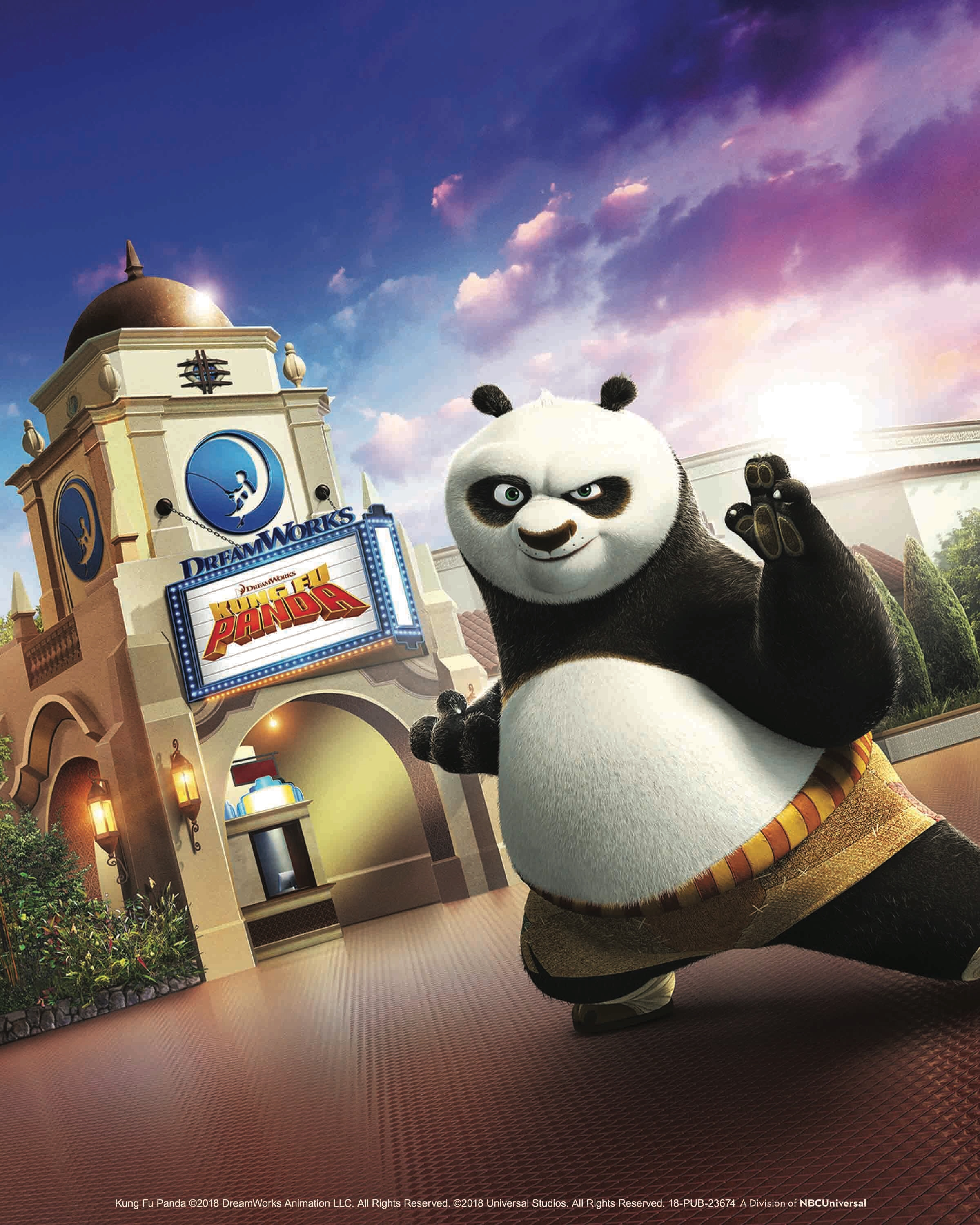 'Kung Fu Panda: The Emperor's Quest' llega al DreamWorks Theatre