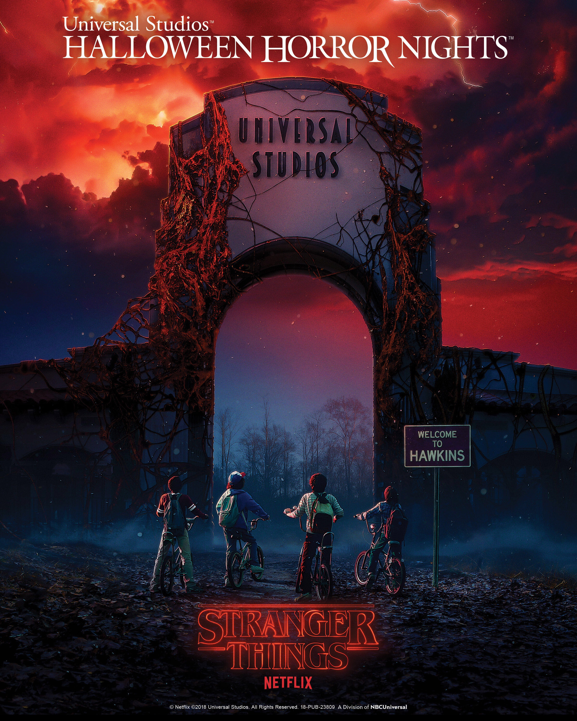 Stranger Things formará parte de Halloween Horror Nights