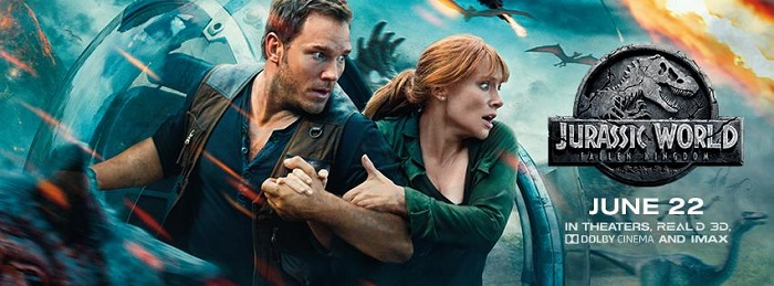Screening: Jurassic World:Fallen Kingdom #JurassicWorld #FallenKingdom