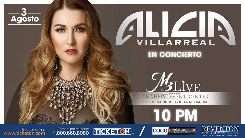 Alicia Villarreal – M3 Live Anaheim Center