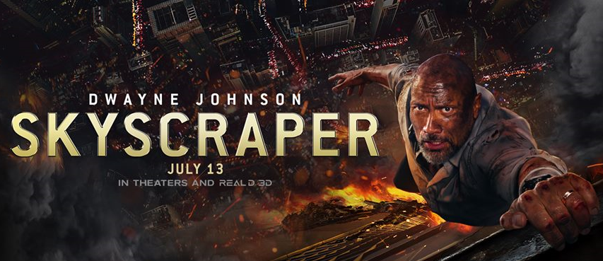 Screening: Skyscraper  #SkyscraperMovie