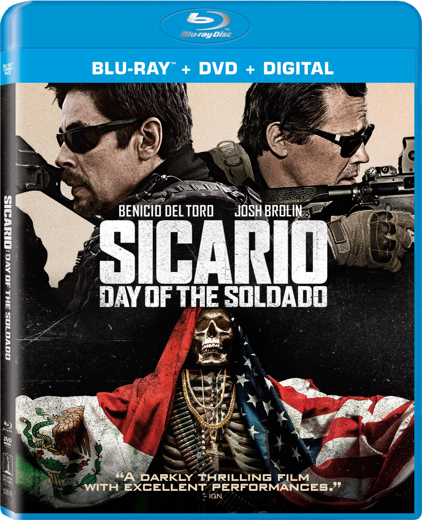 Sorteo: 'Sicario: Day of the Soldado' #SicarioDVD