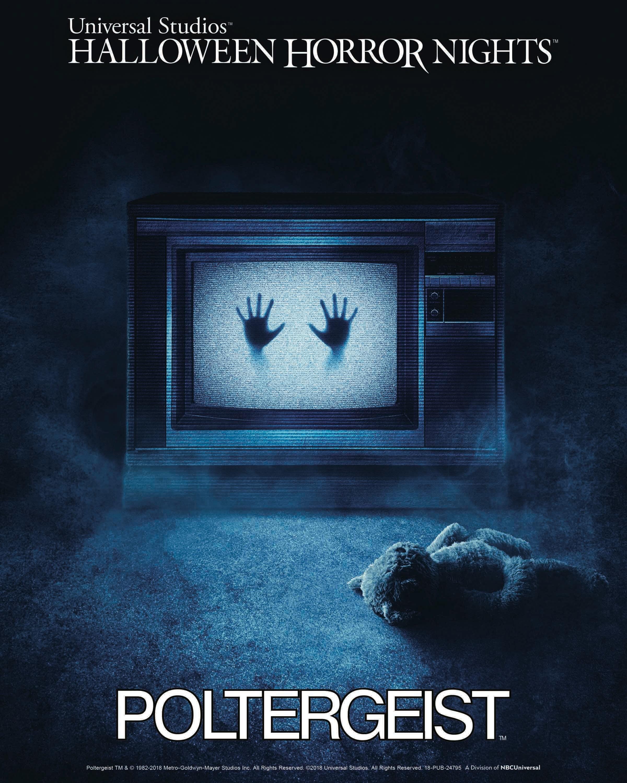 Por primera vez en Halloween Horror Nights…¡Poltergeist!