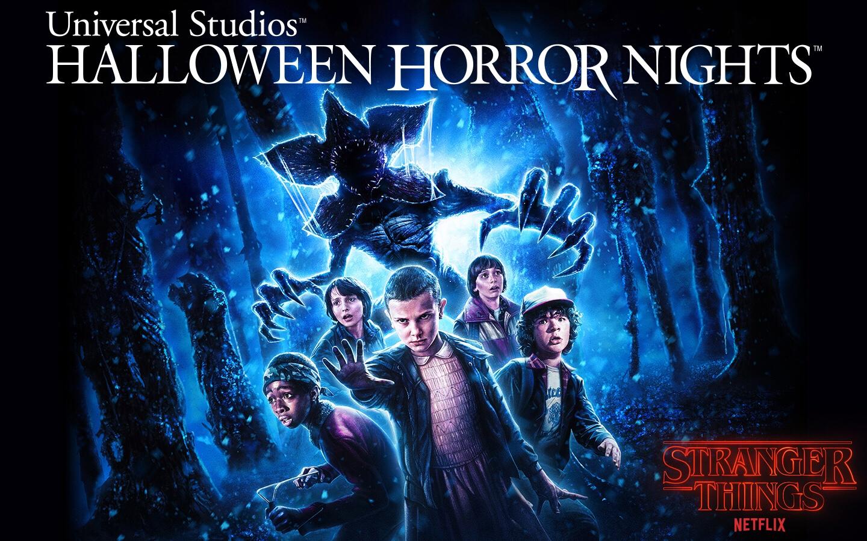 'Stranger Things' será atracción estelar en Halloween Horror Nights