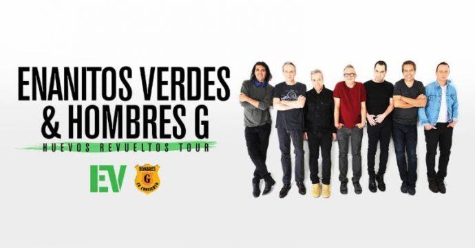 Enanitos Verdes y Hombres G preparan su regreso con su gira 'Huevos Revueltos 2019'