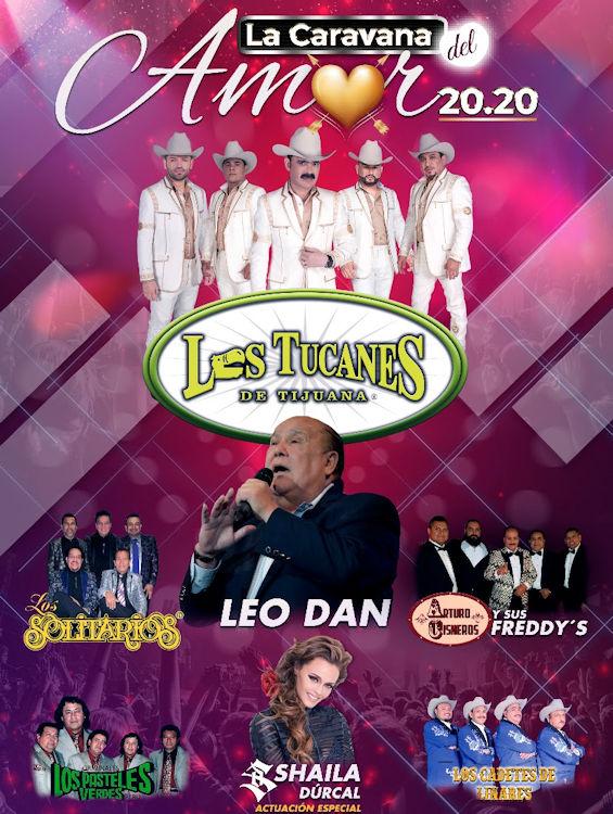 'La Caravana del Amor' este 14 de febrero en Toyota Arena
