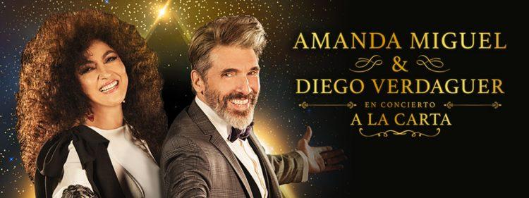 Sorteo: Amanda Miguel & Diego Verdaguer (A La Carta)