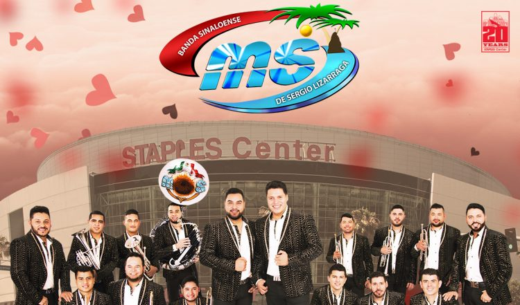 Banda MS rumbo a la conquista del STAPLES Center