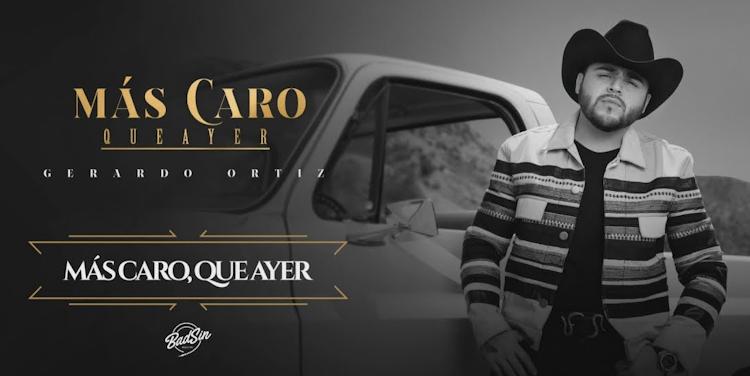 Gerardo Ortiz debuta su noveno álbum 'Más Caro Que Ayer' y el video de su  sencillo 'Otra Borrachera'