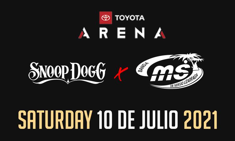 Banda MS & Snoop Dogg – Toyota Arena