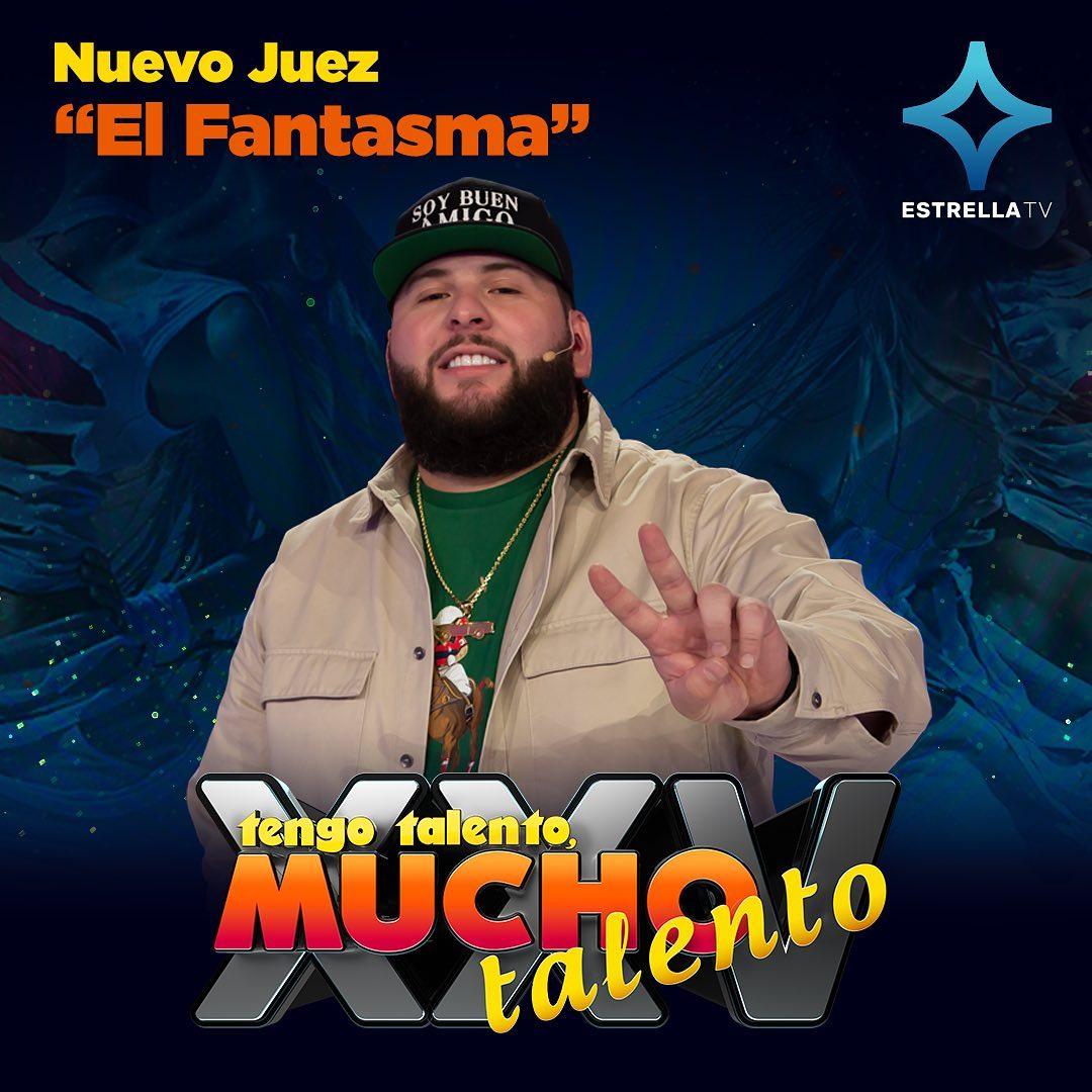 El Fantasma – nuevo juez en 'Tengo Talento Mucho Talento'